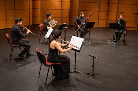 Teatro Regional del Maule presenta concierto online con emblemáticas obras para Quinteto de Vientos