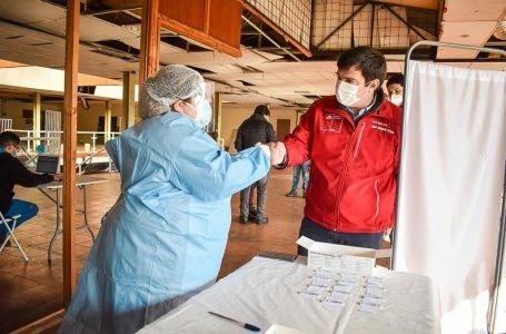 Desarrollan Test de antígenos en el terminal de buses de Curicó