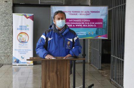 """Consulta ciudadana sobre proyecto torres de alta tensión """"Itahue– Hualqui"""""""