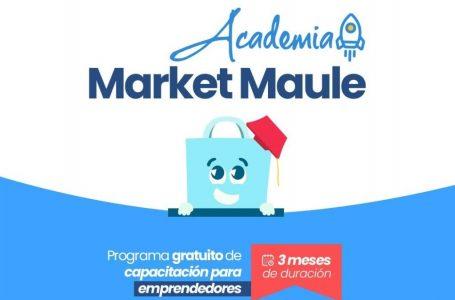 Ciclo capacitaciones gratuitas para emprendedores es organizado por Market Maule