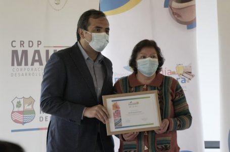 Artesanos y agrupación de artesanía de Colbún son beneficiados con fondos concursables
