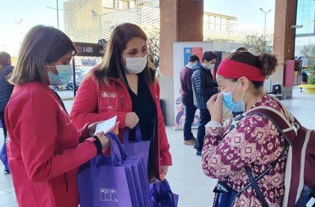 Sernameg y Seremi de la Mujer reiteran condena del femicidio de Curanipe