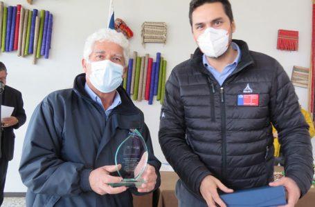 IND reconoció a dos impulsores del deporte en San Javier