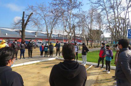 Emotiva experiencia vivió delegación deportiva de Hualañé