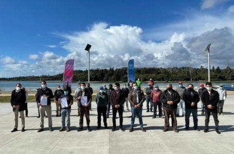 Agrupación de pescadores de Constitución recibe apoyo de Serviu Maule