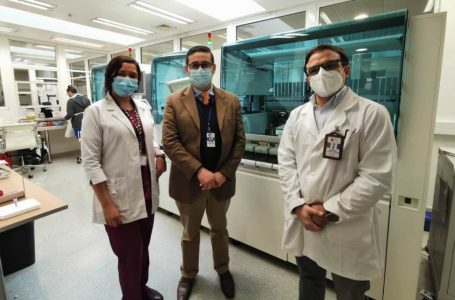 Laboratorio del Hospital Regional de Talca inicia procesamiento de muestras para variantes de SARS-CoV-2